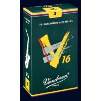 出清Vandoren-V16(深綠盒)竹片-中音三號