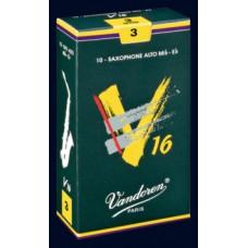 出清Vandoren-V16(深綠盒)竹片-中音二號半