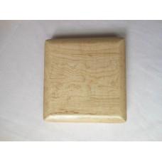原木簧片盒 (原木色)