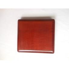 原木簧片盒 (紅木色)